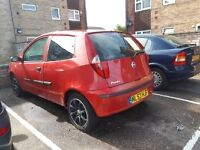 QUICK SALE FIAT PUNTO 2003 1.2 MANUAL 3 DOOR £350