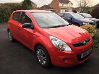 Hyundai i20 1.2 Classic 5dr Like new, FSH, immaculate condition. Well loved and kept in garage
