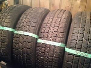 used tires size 195/70/14  for sale