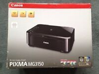 Canon Pixma MG 3150 Printer/Scanner with all accessories