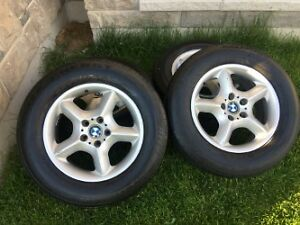 BMW X5 tire and rim (USED)