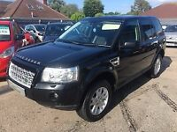 2010/10 LANDROVER FREELANDER 2 2.2 TD4E XS 4X4 5DR BLACK,IN IMMACULATE CONDITION,HIGH SPEC