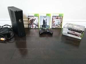 250 GB Xbox 360 slim with 11 games including GTA5