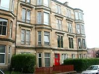 Traditional 3 bedroom flat on Garthland Drive, Dennistoun (Furnished or unfurnished)