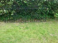 Galvinsed Metal Garden Gate 240cm x 90cm