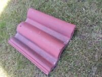 CONCRETE ROOF TILES (APPROX 120) FOR £80