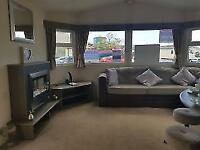 3 Bedroom Double Glazed & Centrally Heated Static Caravan For Sale Ayrshire
