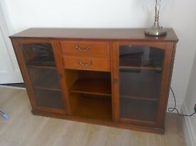 Mahogany Display/Bookcase