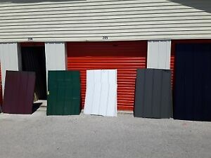 Metal Roofing Mix colours 18pieces total