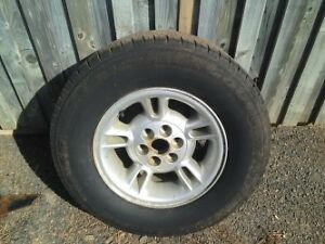 Wheel and tire size255/65/15 for sale