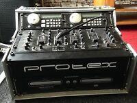 Dual cd player an Mixer