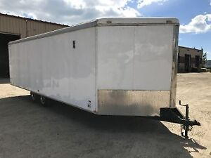 2013 Heated Enclosed Trailer 24 ft.