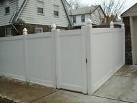 Vinyl and Aluminum Fencing for Sale - Fall Discounts