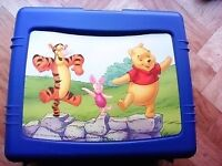 WINNIE THE POOH LUNCH BOX - NEW - NEVER USED