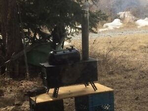 Camping Stove Grill Oven