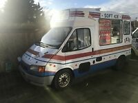 Original Whitby Morrison Ice Cream Van