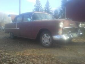 1955 Chevy 210 project