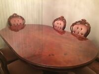 """"""""""""""""""""""" FOR QUICK SALE """""""""""""""" DINNING TABLE & CHAIRS"""
