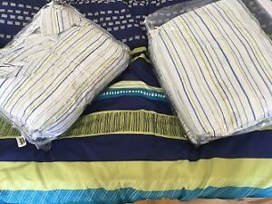 Twin sheets and Blanket Set x2