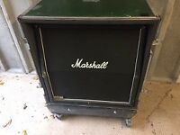Marshall 1960 4x12 Angled Cab & Live-in flight case
