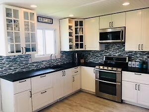 Furnished 3 bed 1.5 bath upper suite of house