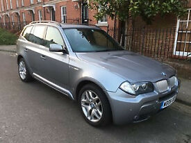 EXCEPTIONAL X3 - FULLY OPTIONED - BMW X3 2008 350d MSport Xdrive