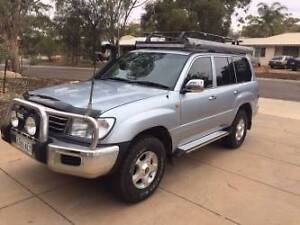 2002 Toyota LandCruiser HDJ100R Turbo Diesel Adelaide CBD Adelaide City Preview