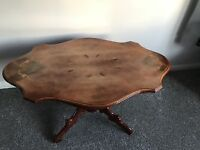 EMBOSSED PATTERN COFFEE TABLE FOR SALE