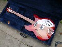 Immaculate Rickenbacker Fire-Glo 330 Guitar - 1996