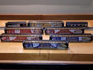 Bradford Exchange Hawthorne Village NHL Original 6 Train Set