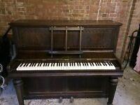 KIRKMAN PIANO UPRIGHT BUILT 1898
