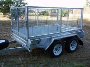 FOR HIRE: 8x5 Tandem Cage Trailer, Rated 1.5Tonnes - CHEAP RATES! Maddington Gosnells Area Preview
