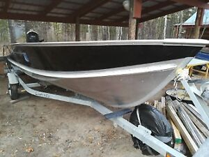 25 hp Yamaha on 16 foot SSV Lund with trailer