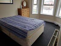 Large double room for working person for single occupancy in shared house - all bills included