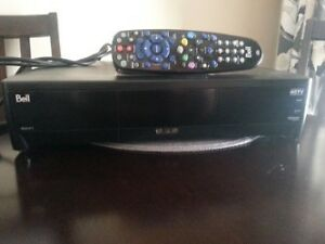 Bell PVR HD and 2 Bell Receivers