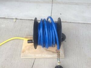 Air compressor reel and 50' of hose - SAVE $$