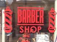 Barber shop is available for rent