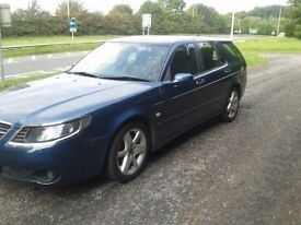 BARGAIN .... SAAB ESTATE 9-5 LINEAR SPORT 2.0T BARGAIN