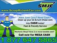 Junk Car Towing | Scrap Car Removal | Top Cash PAID CALL NOW