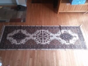 Afghan runner hand knotted 7'7 - 2'7' foot