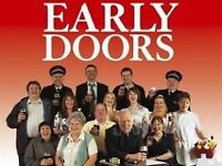 £100 FOR 2 X EARLY DOORS TICKETS BRILLIANT SEATS BIRMINGHAM 28TH SEPT COLLECTION OR CAN POST OUT