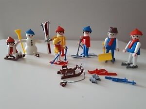 Playmobil winter outdoor activites for sell