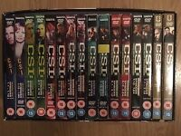 CSI dvds never used, season 1 to 8 = 48 dvds = 182 episodes for £20