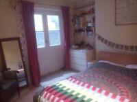 Double room with French doors overlooking garden