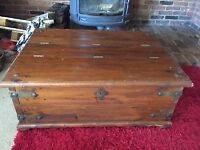 *** Large Wooden Trunk ***