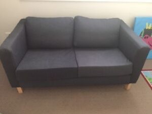 Free small, navy couch Riverview Lane Cove Area Preview
