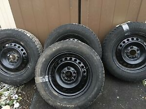 205 65 R15 Winter Tires and Rims