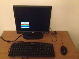 Dell Monitor, Keyboard and Mouse - Great Deal