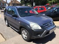 2005/55 HONDA CR-V 2.2i CDTI STATION WAGON,5 DR BLUE,MANUAL, GOOD CONDITION,LOOKS AND DRIVES WELL