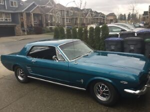 1966 Mustang with only 89,000 miles